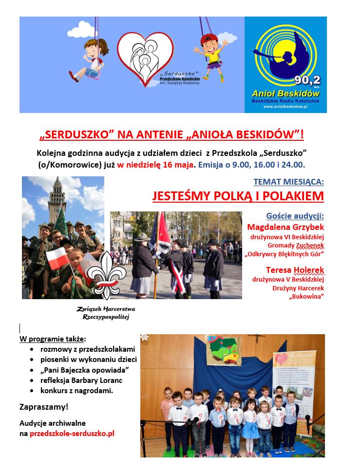 Plakat Audycja Maj 2021