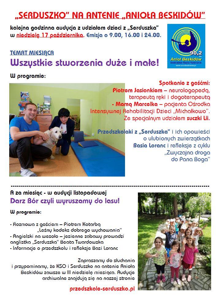 Plakat Audycja KSO październik 2021